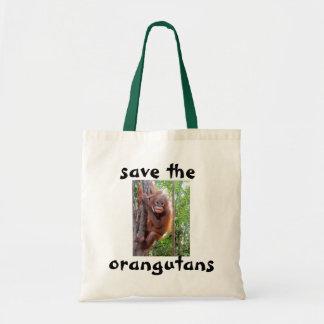 Baby Orangutan Uttuh Photo Tote Bag