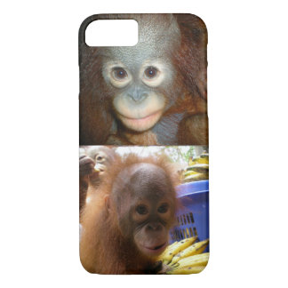 Baby Orangutans Borneo iPhone 7 Case