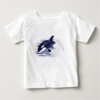 Baby Orca Jump Baby T-Shirt