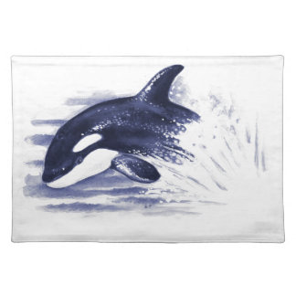 Baby Orca Jump Placemat