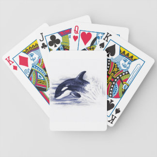 Baby Orca Jump Poker Deck