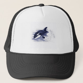 Baby Orca Jump Trucker Hat
