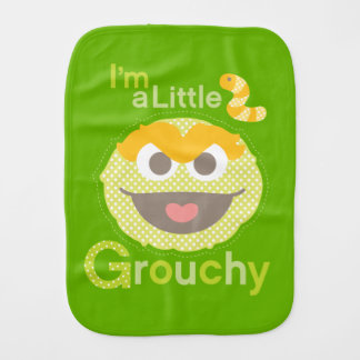 Baby Oscar Grouchy Burp Cloth