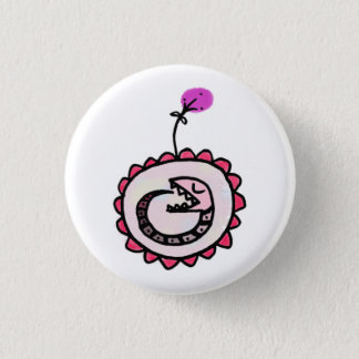 baby ouroboros 1 inch round button