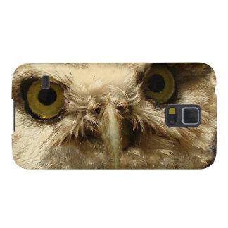 Baby Owl Bird Galaxy Case
