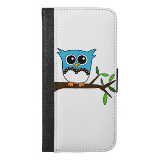 Baby owl iPhone 6/6s plus wallet case