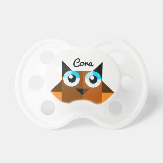 Baby Owl Personalized Name Pacifier