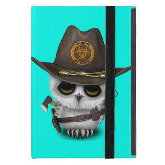 Baby Owl Zombie Hunter Cover For iPad Mini
