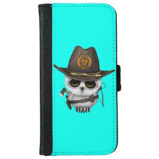 Baby Owl Zombie Hunter iPhone 6 Wallet Case