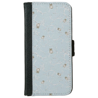 Baby Owls on Winter Snowy Limbs iPhone 6 Wallet Case