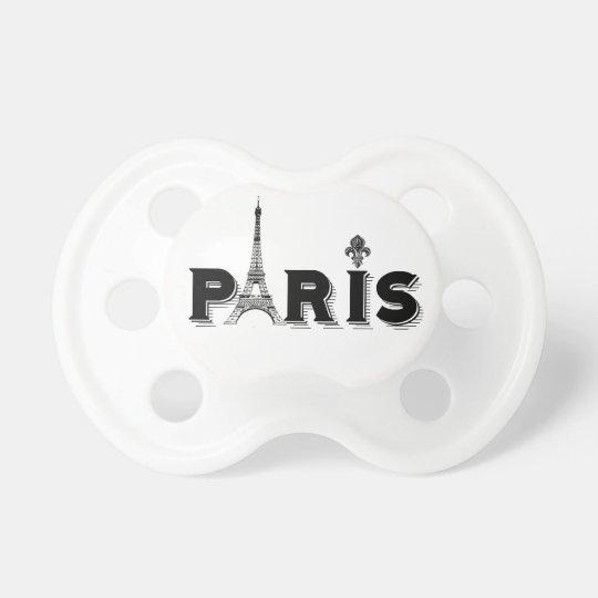 Baby Pacifer...PARIS Pacifiers