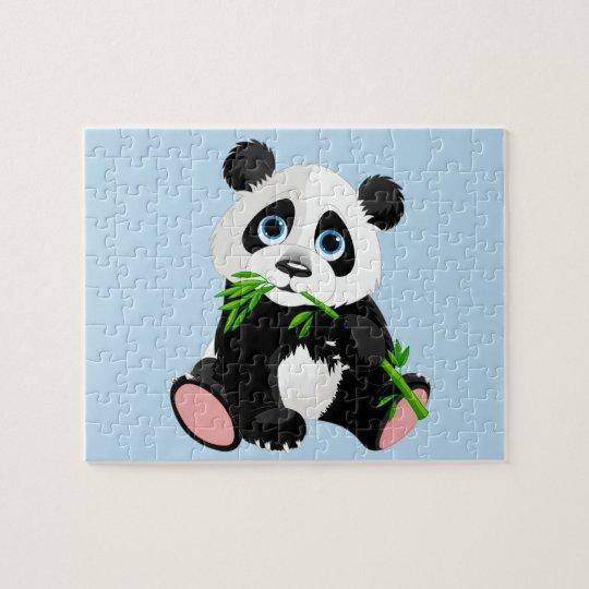 Baby Panda Bear Game Puzzle