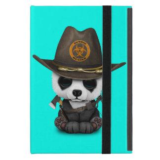 Baby Panda Bear Zombie Hunter Case For iPad Mini