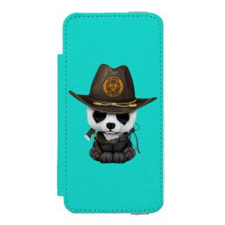 Baby Panda Bear Zombie Hunter Incipio Watson™ iPhone 5 Wallet Case