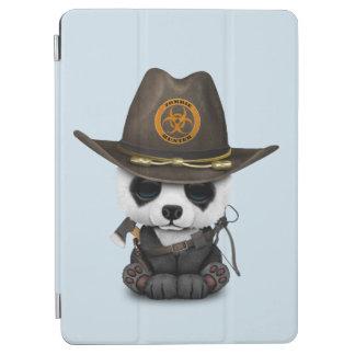 Baby Panda Bear Zombie Hunter iPad Air Cover