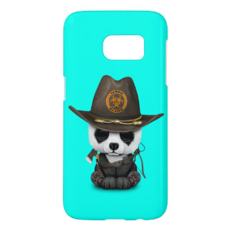 Baby Panda Bear Zombie Hunter Samsung Galaxy S7 Case