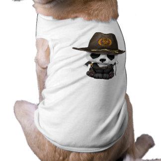 Baby Panda Bear Zombie Hunter Shirt