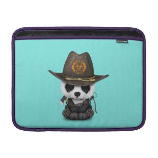 Baby Panda Bear Zombie Hunter Sleeve For MacBook Air