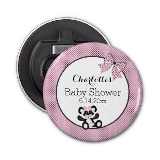 Baby Panda Button Bottle Opener
