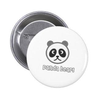 Baby Panda Cartoon Pin