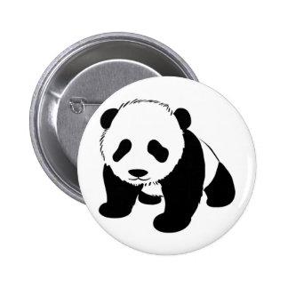 Baby Panda cub crawling towards you 2 Inch Round Button