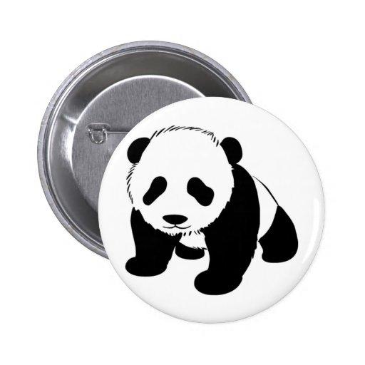 Baby Panda cub crawling towards you Pinback Button