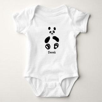 Baby Panda Girl Boy t-shirt White Pink Blue
