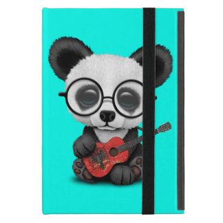 Baby Panda Playing Albanian Flag Guitar iPad Mini Case