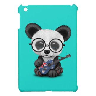Baby Panda Playing Australian Flag Guitar Cover For The iPad Mini