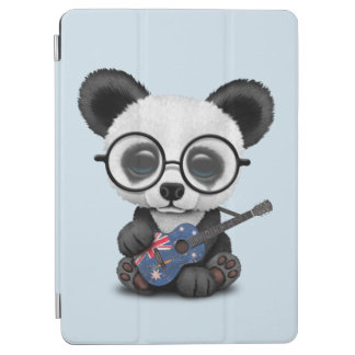 Baby Panda Playing Australian Flag Guitar iPad Air Cover