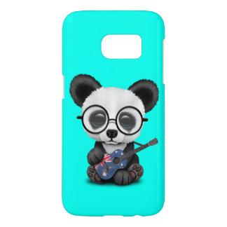 Baby Panda Playing Australian Flag Guitar Samsung Galaxy S7 Case