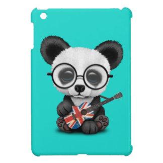 Baby Panda Playing British Flag Guitar Case For The iPad Mini