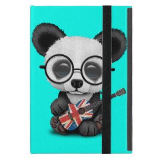Baby Panda Playing British Flag Guitar Cover For iPad Mini