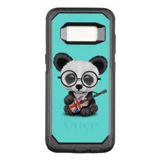 Baby Panda Playing British Flag Guitar OtterBox Commuter Samsung Galaxy S8 Case
