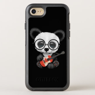 Baby Panda Playing Canadian Flag Guitar OtterBox Symmetry iPhone 8/7 Case