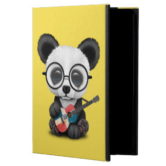 Baby Panda Playing Dominican Flag Guitar Powis iPad Air 2 Case