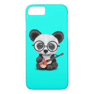 Baby Panda Playing English Flag Guitar Case-Mate iPhone Case