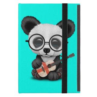 Baby Panda Playing English Flag Guitar iPad Mini Cover