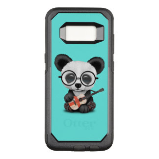 Baby Panda Playing English Flag Guitar OtterBox Commuter Samsung Galaxy S8 Case