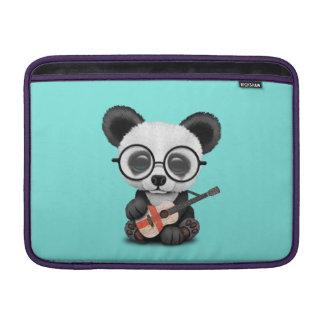Baby Panda Playing English Flag Guitar Sleeve For MacBook Air