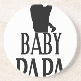 Baby papa coaster