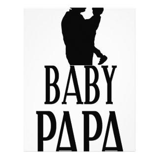 Baby papa customized letterhead