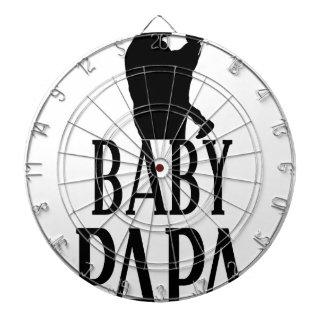 Baby papa dartboard