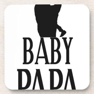 Baby papa drink coaster