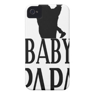 Baby papa iPhone 4 Case-Mate cases