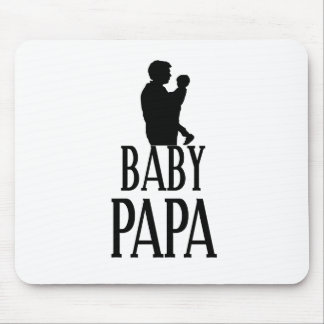 Baby papa mouse pad