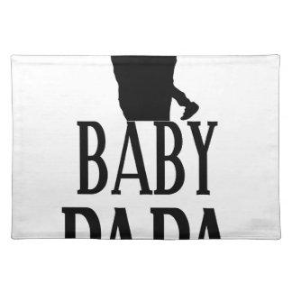 Baby papa placemat