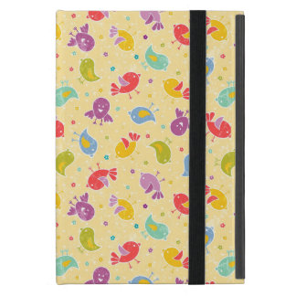 Baby pattern with cute birds cases for iPad mini