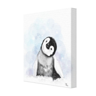 Baby Penguin Canvas