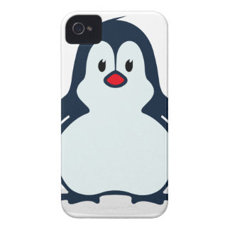 Baby Penguin Cartoon iPhone 4 Case-Mate Cases